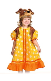 Детский костюм собачки Жучки