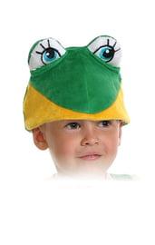 Шапочка-маска лягушонок