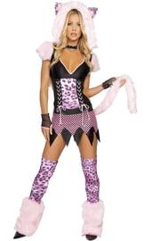 Женский костюм Снежного барса