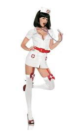 Костюм Медсестры с красным поясом