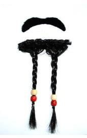 Усы и борода Джека Воробья