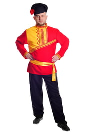 Красный костюм барина