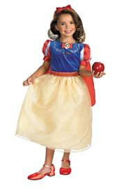 Детский костюм Белоснежки в плаще