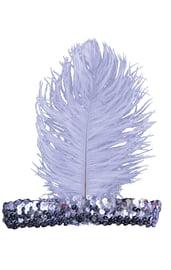 Серебряная повязка на волосы