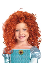 Детский парик рыжей Мериды