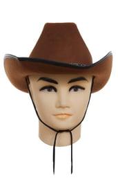 Ковбойская шляпа фетровая