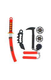 Набор оружия ниндзя с булавой