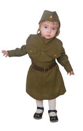 Детский костюм Малышки Солдаточки