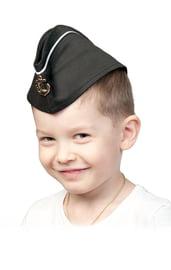 Детская пилотка ВМФ с кантом