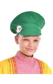 Зеленый детский картуз