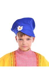 Детский синий картуз