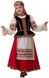 Детский славянский костюм для девочки