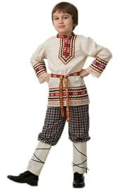 Детский костюм славянского мальчика
