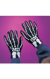 Детские перчатки скелета