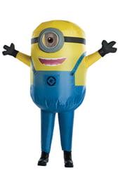 Детский надувной костюм Миньона