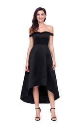 Черное платье для выпускного