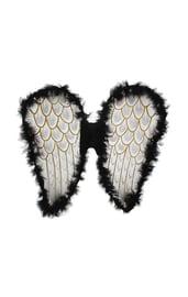 Черные ангельские крылья