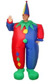 Надувной костюм Клоуна