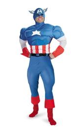 Взрослый костюм Капитана Америки