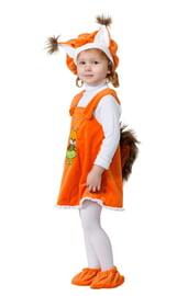 Детский костюм Белочки с ушками