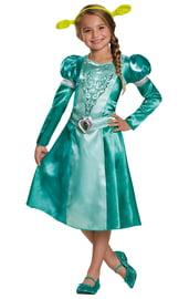 Детский костюм Фионы из Шрека