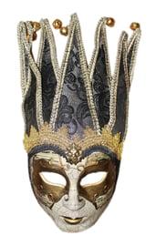 Венецианская маска с серым узором