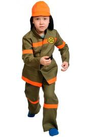 Детский костюм отважного пожарного