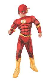Детский костюм Флеша с мышцами