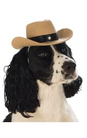 Ковбойская шляпа для собаки