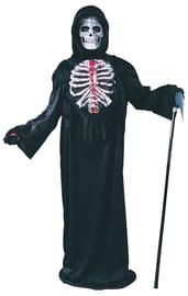 Детский костюм Смерти с кровью