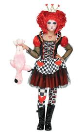 Детский костюм Карточной королевы сердец