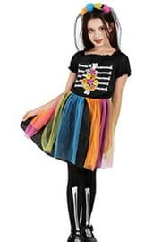 Детский костюм Скелета Катрины