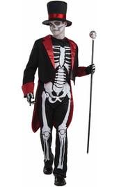 Подростковый костюм Скелета