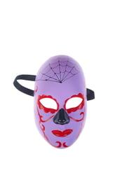 Фиолетовая маска на день мертвых