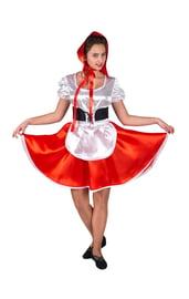 Взрослый костюм Доброй Красной Шапочки