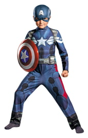 Костюм Капитана Америки для мальчика