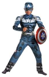 Костюм мальчика Капитана Америки