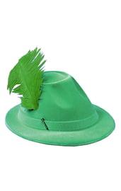 Зеленая шляпа с пером