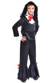 Детский костюм черного пуделя Артемона