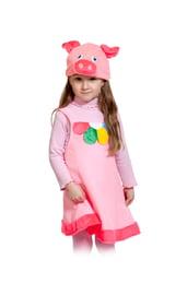 Детский костюм Поросенка с цветком