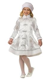 Детский костюм Серебристой Снегурочки
