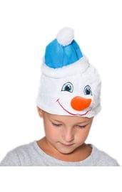 Детская шапка Снеговика