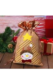 Мешок для подарков Снеговик