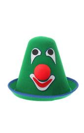 Зеленая карнавальная шляпа