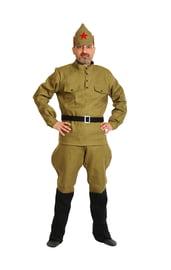 Взрослый костюм красноармейца