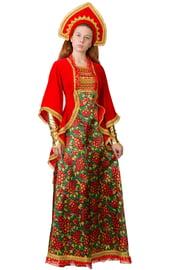 Взрослый народный костюм Сударыни