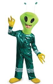 Детский костюм Зеленого Инопланетянина
