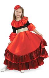 Детский костюм прекрасной Испанки