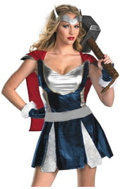 Женский костюм воина Тора
