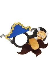 Карнавальные пиратские очки